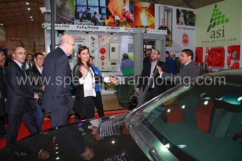 Lebanese Prime Minister visit to MSCA booth